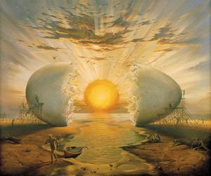 Vladimir_Kush_Sunrise_by_the_Ocean